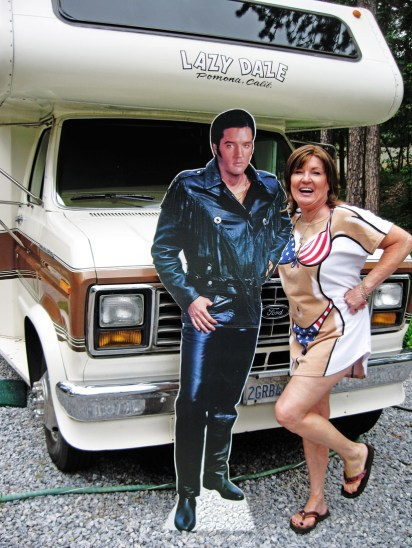 Mom and Uncle Elvis