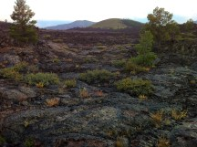 Landscape at Craters of the Moon NP, Idaho
