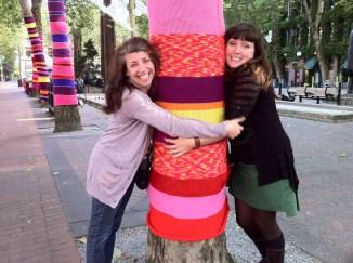 Friendly Trees. Seattle, Washington