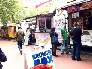 Brunch Box. Street foods. Portland, Oregon