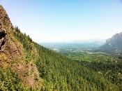 View from the top of Rattlesnake Ridge. Snoqualmie Pass, Washington