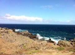 Nakalele Point Blowhole HWY 30
