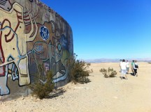 A walk around the Tanks, Slab City