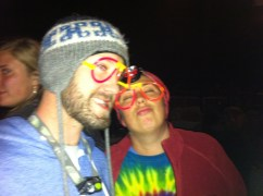 Glow glasses are happy makers