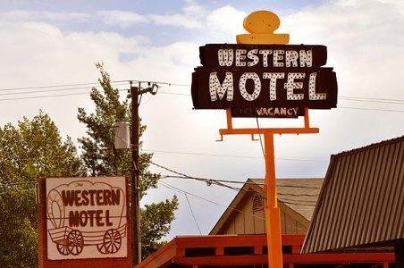 Western Motel, Hwy 50, Gunnison, CO