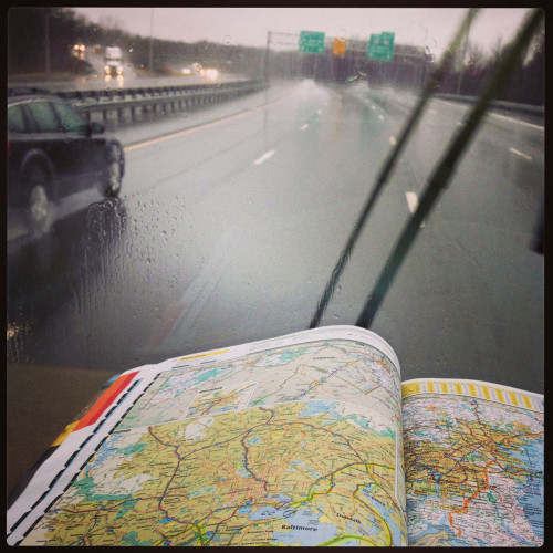 """Navigating through the """"No RV"""" areas of Baltimore, MD."""