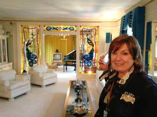 Took my mom to Graceland.