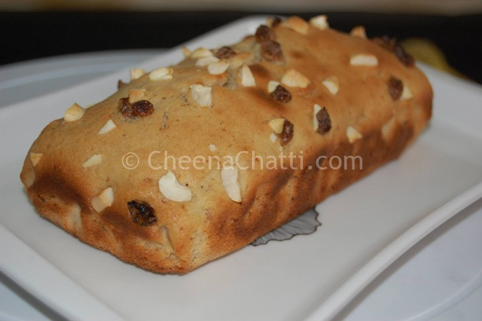 wheat banana bread