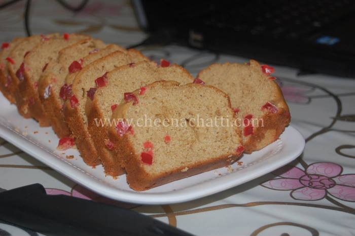 Whole wheat Oil free Banana loaf