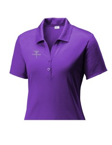 LST550P Disc Golf Tournament Polo for Women