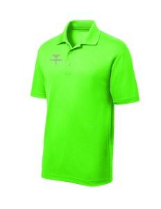 ST640 Lime Disc Golf Tournament Polo