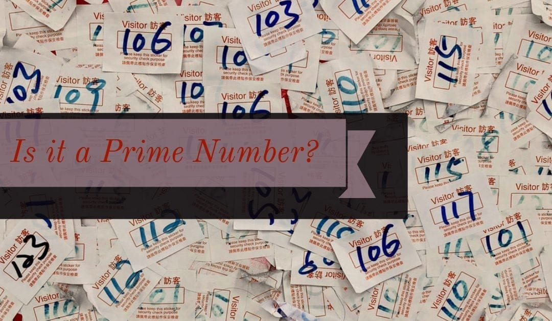 Is it a prime number?