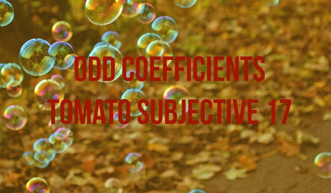 Test of Mathematics Solution Subjective 17 – Odd Coefficients