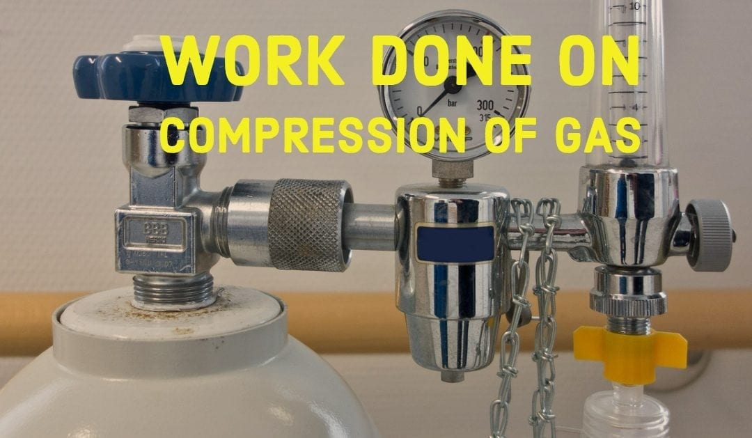 Work Done on Compression of Gas