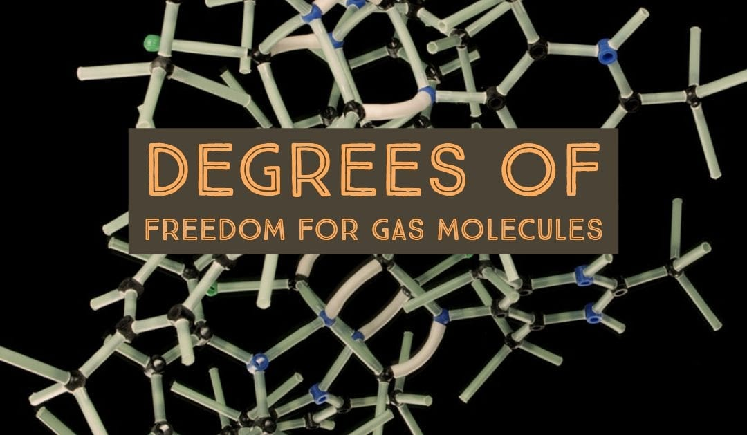 Degrees of Freedom for Gas Molecules