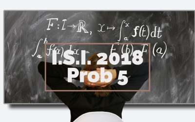 I.S.I. 2018 Problem 5 – a clever use of Mean Value Theorem