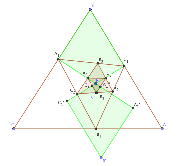 Spiral Similarity of cyclic quadrilaterals