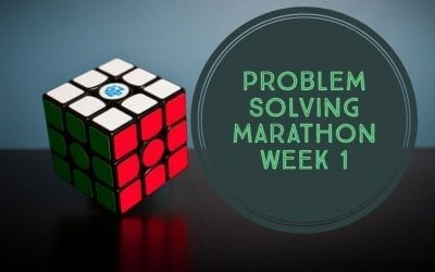 Problem Solving Marathon Week 1