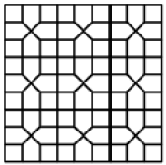 pentagon and square pattern