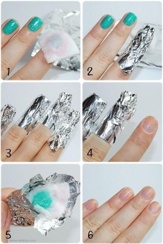 Removing Nail Polish Without Acetone Emsilog