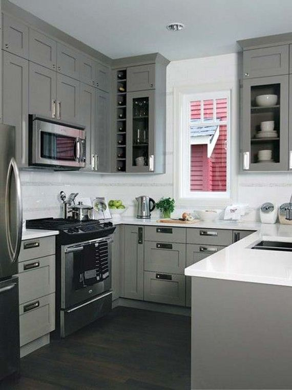 Cool Kitchen Designs for Small Spaces on Small Space:fn118Lomvuk= Small Kitchen Ideas  id=12045
