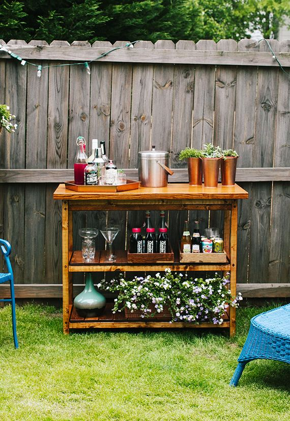 Cool DIY Outside Bar Ideas on Best Backyard Bars id=54154