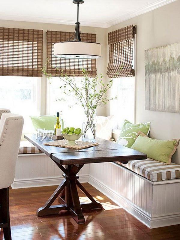 Awesome Breakfast Nook Ideas on Backyard Nook Ideas id=43577