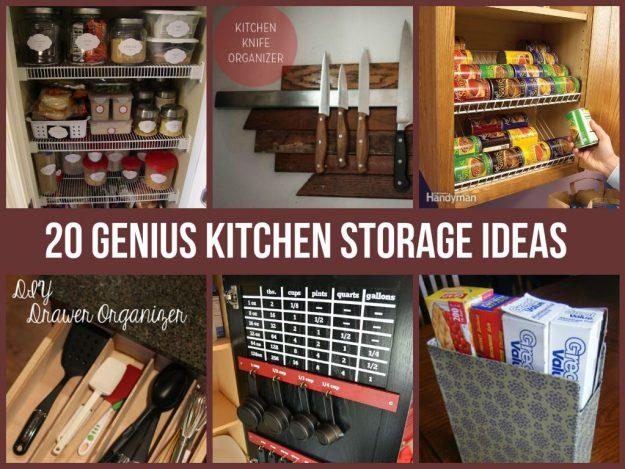 amazing kitchen storage ideas