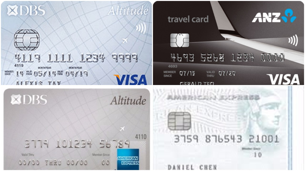 Travel Visa Cards Comparison