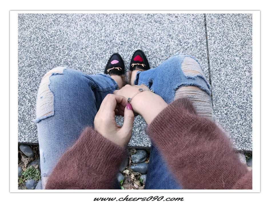 穿搭 時尚 毛衣 牛仔褲