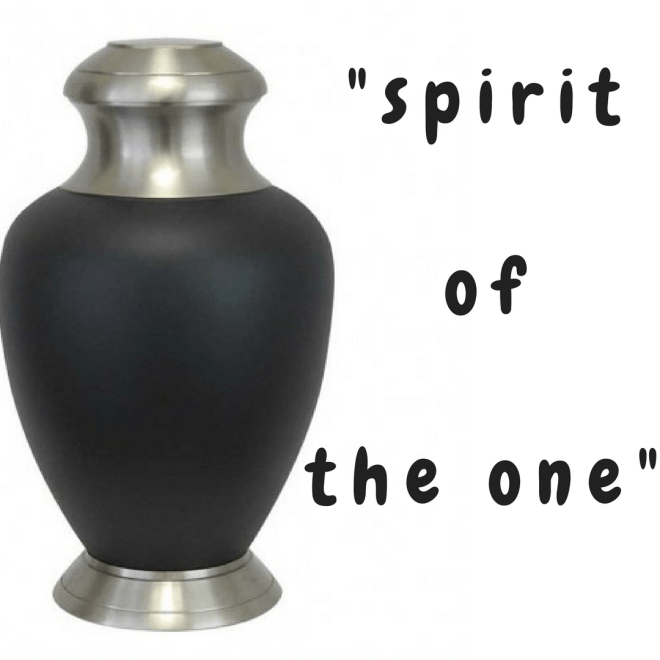 """spirit of the one"" (poem)"