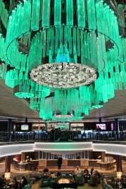 Das beeindruckende Atrium der Norwegian Jade