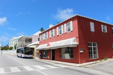 Stadtzentrum von St. George´s Bermuda