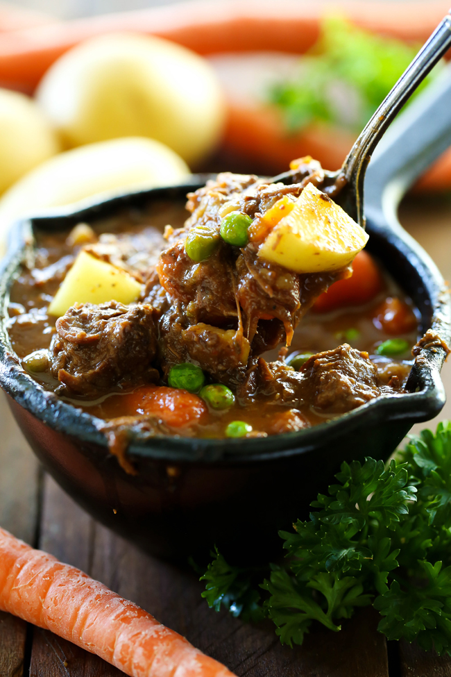 Slow Cooker Beef Stew - Chef in Training