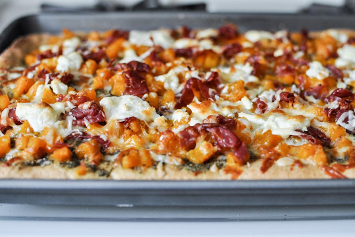 Chef & Shower Recipes   Harvest Pizza Recipe