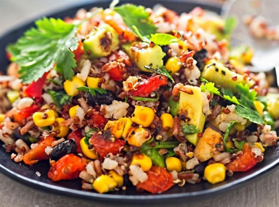 Charred Corn & Quinoa Salad   Chef & Shower Recipes