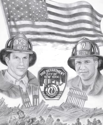 Picture me and Michael FDNY