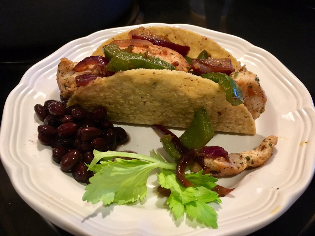 Organic Grilled Chicken Taco
