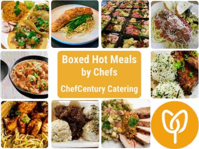 Chefcentury Catering boxed lunches