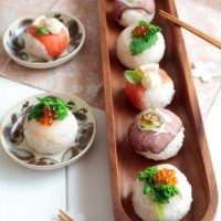 Bombas de sushi