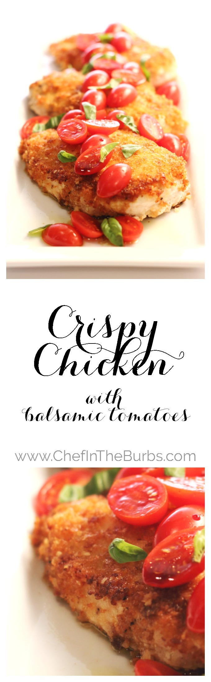 Crispy Chicken with Balsamic Tomatoes