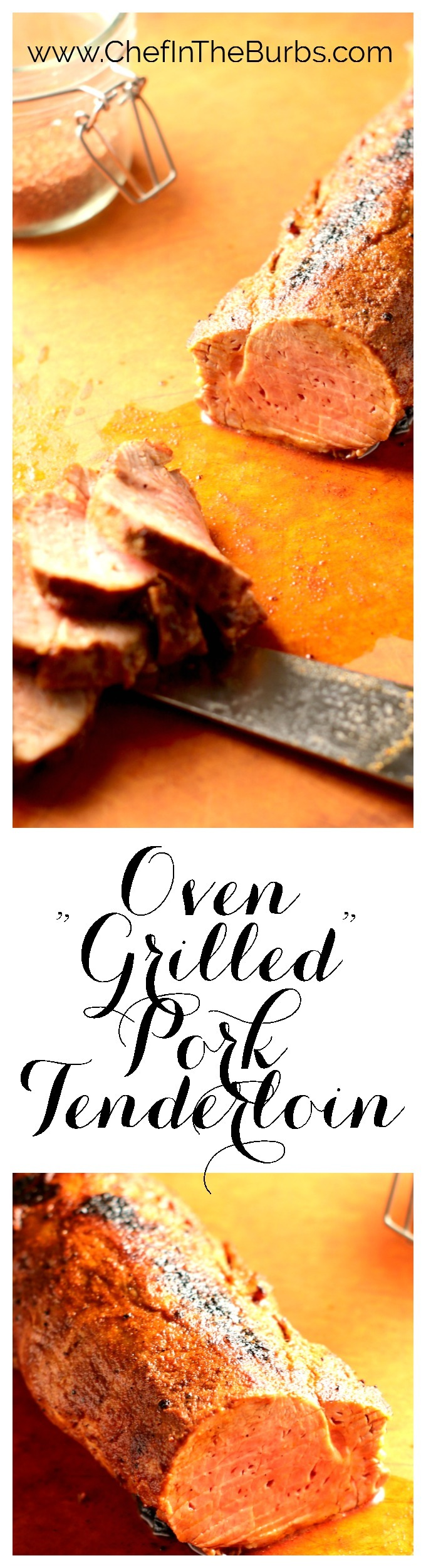 Even if you're not into grilling, per se, this faux grill recipe takes about 2 minutes to prepare and 15 minutes in the oven so it's perfect for a busy weeknight
