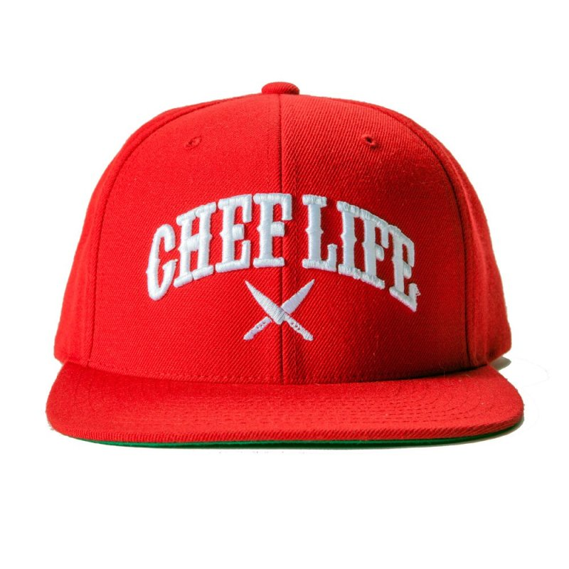 Chef-OG-Snapback-Red