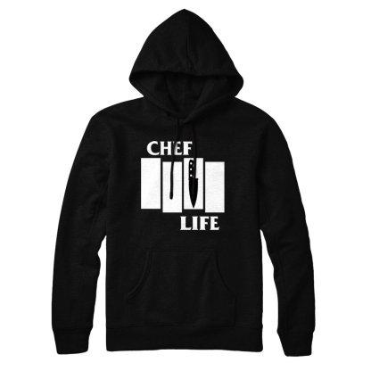 chef life black flag hoodie