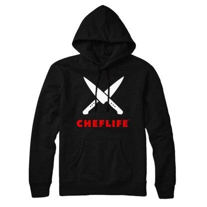 cheflife hoodie black