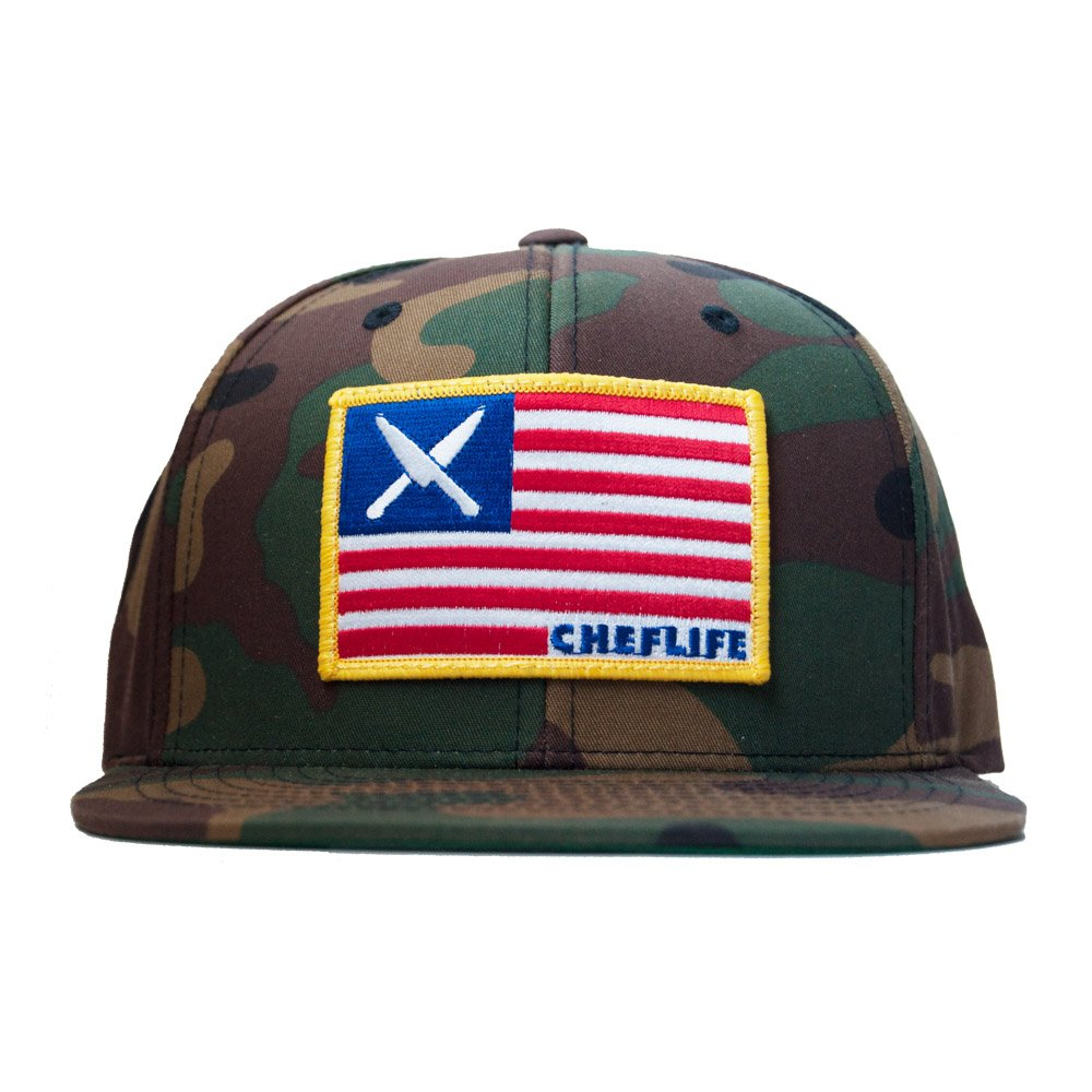 f597be58405 chef life america snapback · american chefs · military chefs