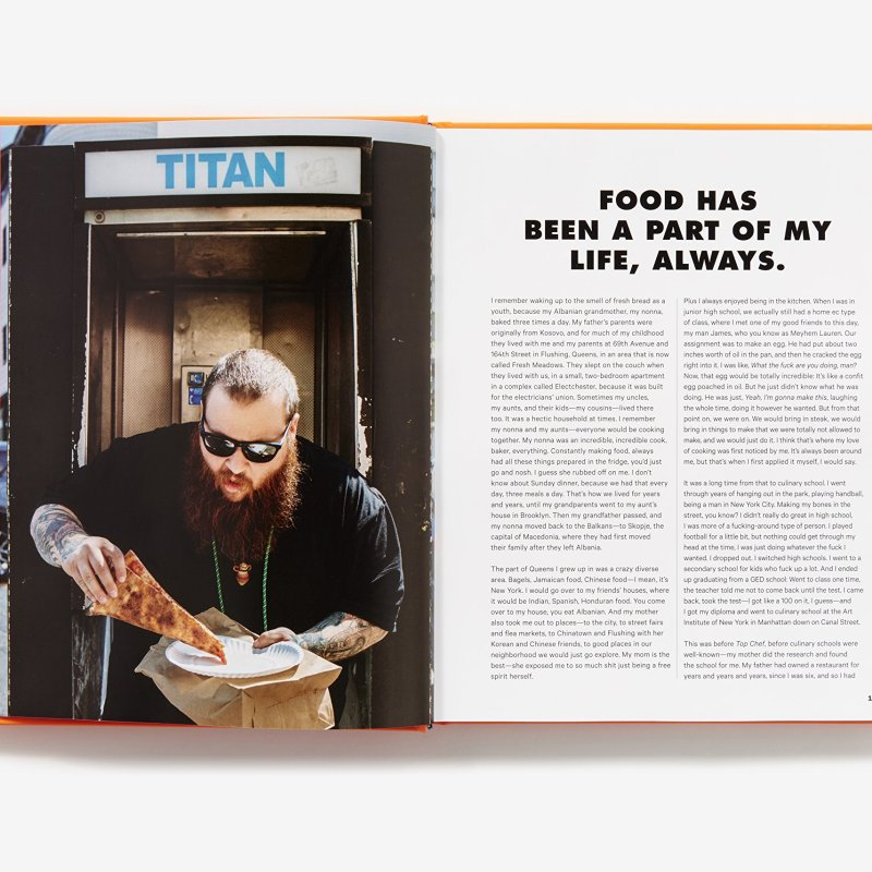action bronson book