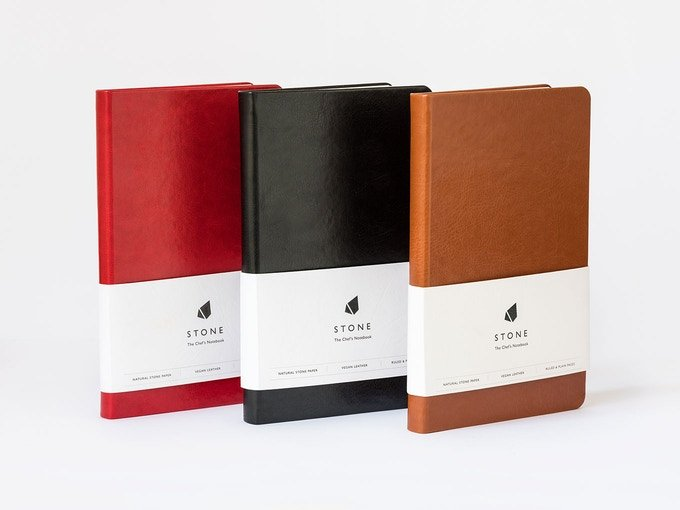 Stone: A Chef's Notebook Durable Enough for the Kitchen
