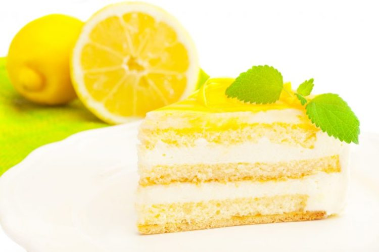 """Лимонный торт """"Молочная девочка"""""""