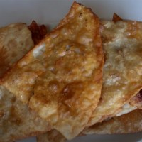 Fried dough with ground beef: Puf Boregi